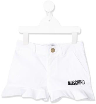 MOSCHINO BAMBINO Ruffle Hem Shorts