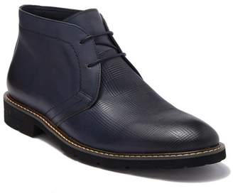 English Laundry Roger Leather Mid Chukka boot