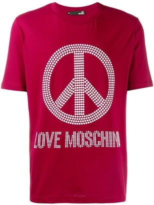 Love Moschino Peace & Love T-shirt