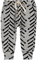 Little Indians Striped Stretch-Cotton Pants
