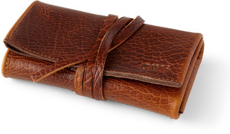 Graphic Image Leather Watch Roll
