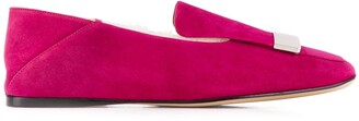 Sergio Rossi Sr1 Lined Loafers