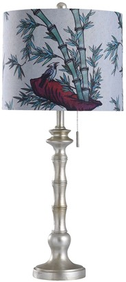 Stylecraft Style Craft Imperial Silver Table Lamp