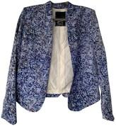 Denham Jeans Blue Silk Jacket for Women