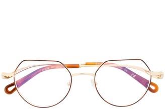 Chloé Eyewear Ayla logo glasses