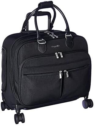Baggallini 4 Wheel Tote (Black) Bags