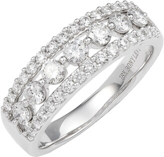 Bony Levy Luxe Mixed Diamond Band Ring