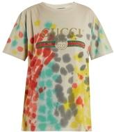 Gucci Tie-dye logo-print T-shirt