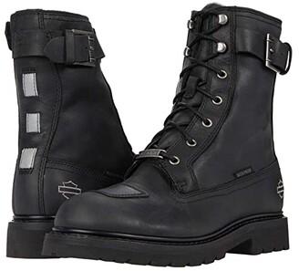 Harley-Davidson Brosner 8 Lace (Black) Men's Boots