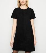 New Look Suedette Mini Tunic Dress