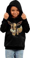ASUYWQN Little Boys Girls Eevee Pokemon Hooded Sweatshirt