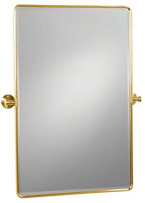 Pottery Barn Vintage Pivot Mirror - Antique Bronze