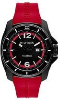 Tommy Hilfiger Men's 1791112 Cool Sport Analog Display Quartz Red Watch