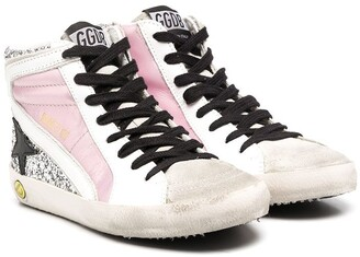 Golden Goose Kids High-Top Star Trainers