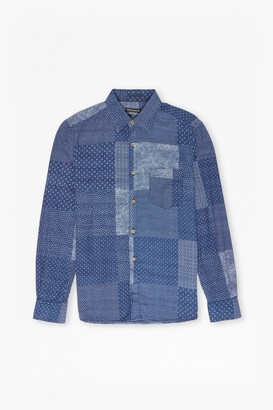 French Connection Takeo Tile Shirt