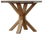 Homelegance Westbrook Zinc Topped End Table Brown
