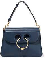 J.W.Anderson Pierce Medium Leather Shoulder Bag - Navy