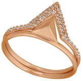 Lucky Brand Double Triangle Ring