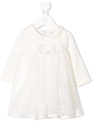 MonnaLisa Bow-Embellished Dress