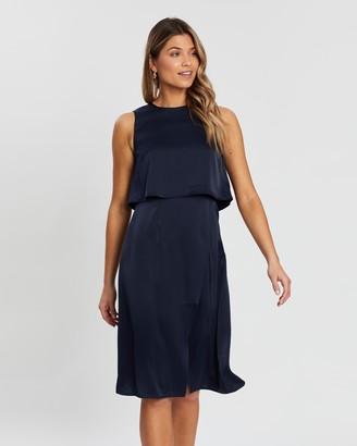 Atmos & Here Leila Asymmetric Dress