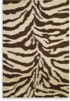 Bed Bath & Beyond Shaggy Zebra Rug in Natural