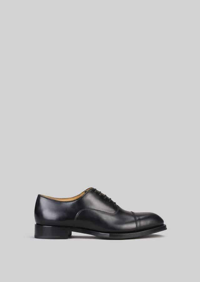 Giorgio Armani Leather Lace-Ups