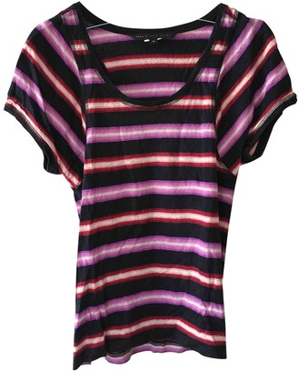 Marc by Marc Jacobs Blue Cotton Top for Women