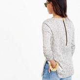 J.Crew Petite sweatshirt with side slits