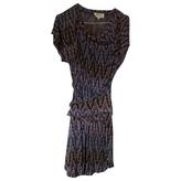 Isabel Marant Purple Cotton Dress