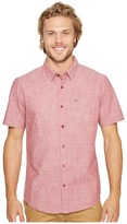 Hurley One Only S/S Woven Shirt Men's Short Sleeve Button Up