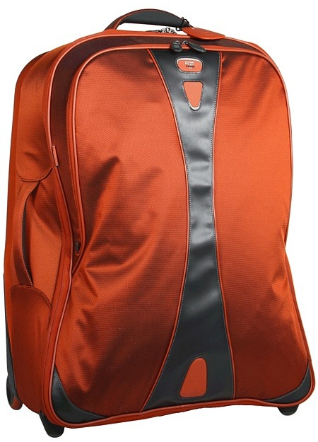 Tumi T-Tech Pulse - Dover Wheeled Packing Case (Flame) - Bags and Luggage