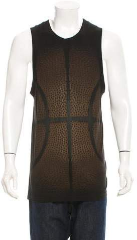 Givenchy Basketball Print Sleeveless T-Shirt w/ Tags
