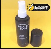 Finally Hair Spray. Fiber Lock STRONG Hold 4.1 oz. - Ideal hair spray for holding fiber in place. Use with fibers like Finally Hair, Toppik, Xfusion, Strand, Finally Hair, Bosley, Nanogen, Viviscal, & others.