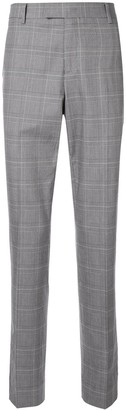 CK Calvin Klein Check Suit Trousers