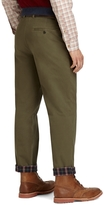 Brooks Brothers Clark Fit Flannel Lined Vintage Chinos