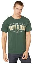 Champion College South Florida Bulls Jersey Tee (Dark Green 2) Men's T Shirt