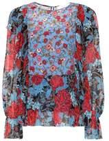 See by Chloe Silk chiffon printed blouse