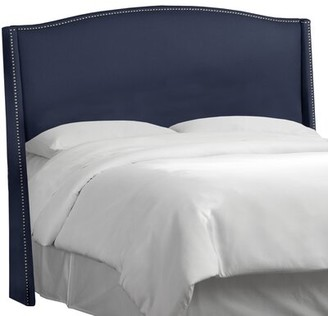 Skyline Furniture Patriot Upholstered Wingback Headboard Size: Queen