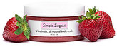 Simple Sugars Strawberry Body Scrub with Emu Oil
