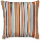 Williams-Sonoma Outdoor Printed Pillow, Coral Striped