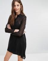 Sisley Chevron Shirt Dress