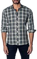 Jared Lang Slim Fit Plaid Sport Shirt