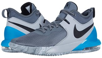 Nike Impact (Smoke Grey/Black/Light Smoke Grey/Blue Fury) Men's Basketball Shoes