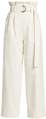 Ganni Chino Paperbag Trousers