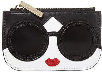 Alice + Olivia Lili Stace Face Coin Pouch Key Charm (Stace Face) Wallet