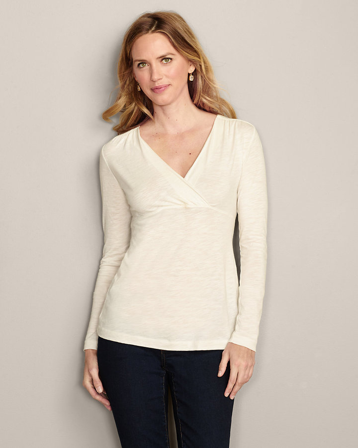 Eddie Bauer Girl on the Go® Crossover Top