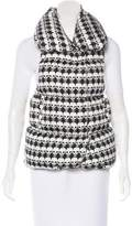 Thomas Wylde Printed Puffer Vest
