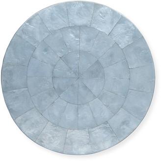 Kim Seybert Round Capiz Shell Placemat