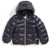 Moncler Toddler Boy's New Aubert Hooded Water Resistant Down Jacket
