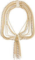 Rosantica Maya Gold-tone Beaded Necklace - one size